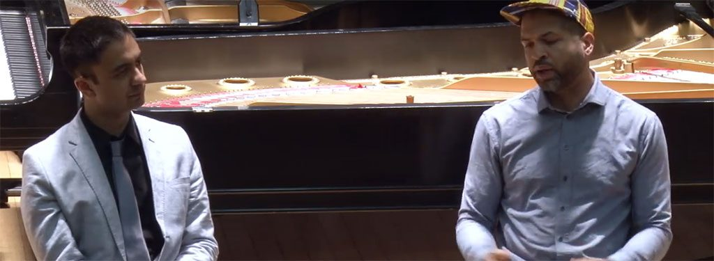 Jason Moran And Vijay Iyer Masterclass At NEC (Video)