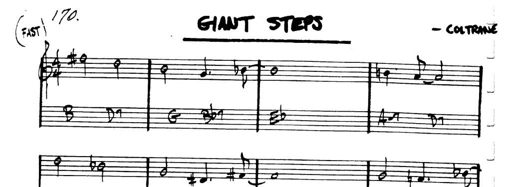Giant Steps For Jazz Kind A Critical Analysis Of Covers Giant Steps For Jazz Kind A Critical Analysis Of Covers