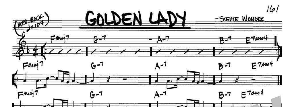 "Once, Twice, Eight Times a (Golden) Lady – Eight Versions of Stevie Wonder's ""Golden Lady"""