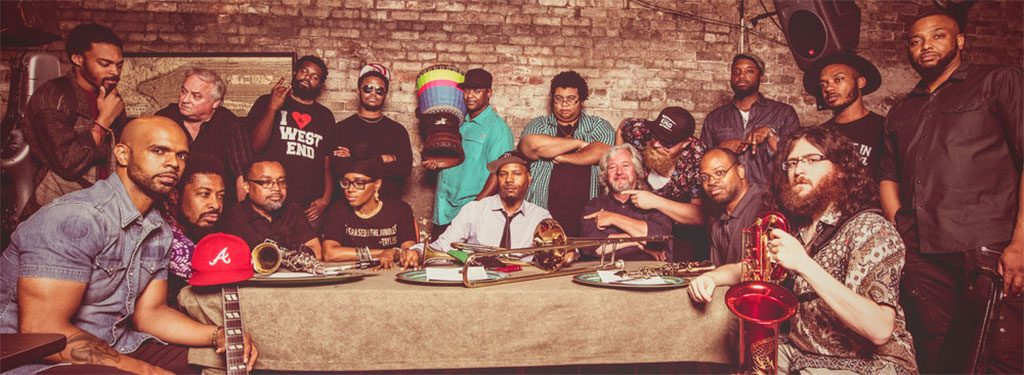 "Stream ""Black Indian Rain Dance"" From The Royal Krunk Jazz Orkestra's New Album 'Pyramids'"
